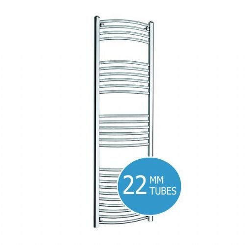 Kartell K-Rail Curved Towel Rail - 500mm x 1600mm - Chrome